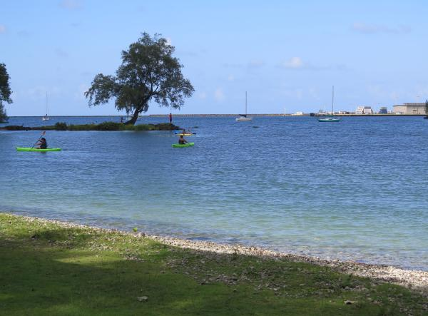 Reed's Bay Beach Park, Hilo, The Big Island Hawaii