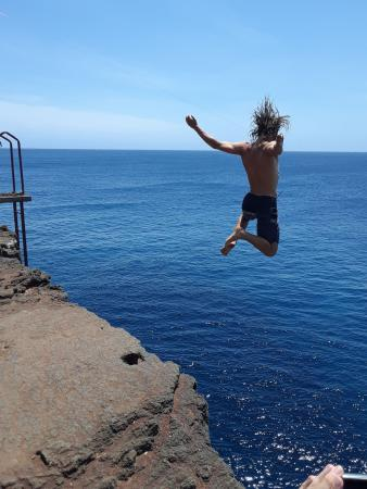 South Point Cliff Dive, The Big Island Hawaii