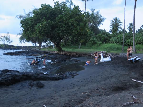 Richardson Ocean Park, Hilo, The Big Island Hawaii