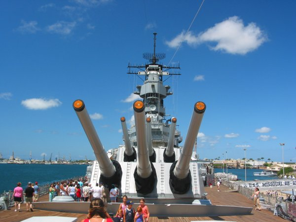 USS Missouri or Mighty Mo, Oahu Hawaii