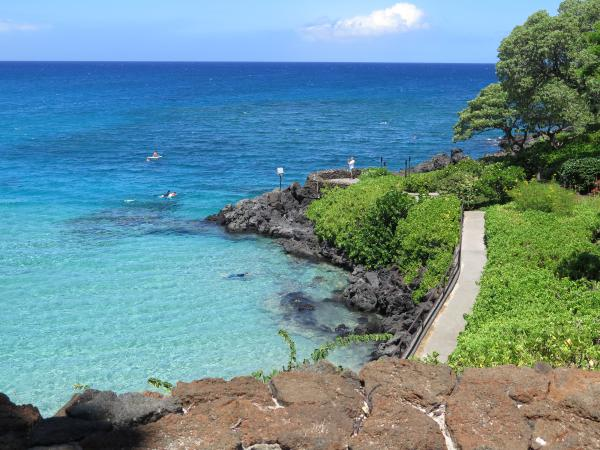 Mauna Kea Hotel Beach, Kohala Coast, The Big Island Hawaii