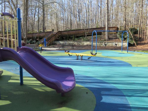 MacDonald Woods Playground and Trail, Cary, North Carolina NC