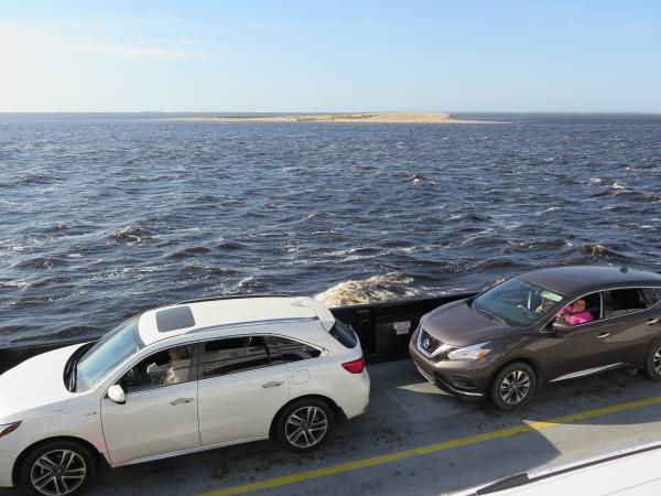 Southport Car Ferry to Fort Fisher, North Carolina NC
