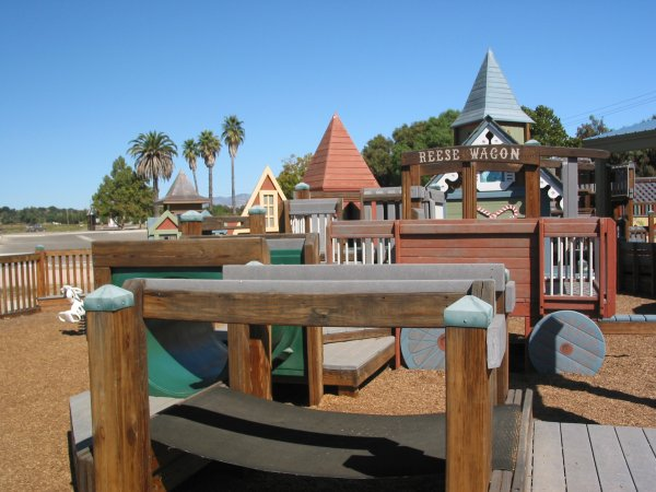 Sunny Fields Playground, Solvang, Santa Barbara California