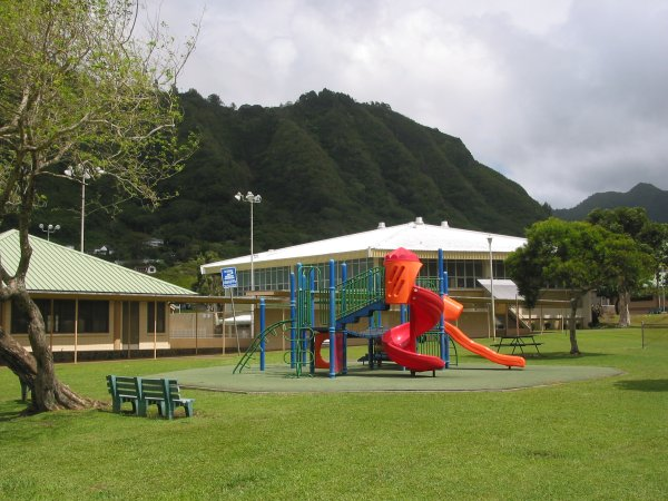 Manoa Valley District Park, Oahu Hawaii