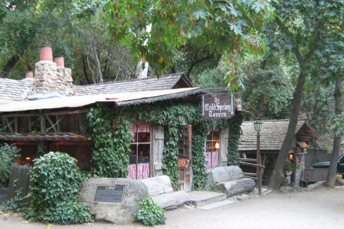 Cold Spring Tavern, Santa Barbara California
