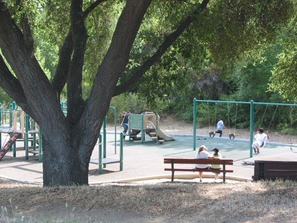 University Circle Playground, Goleta, Santa Barbara California