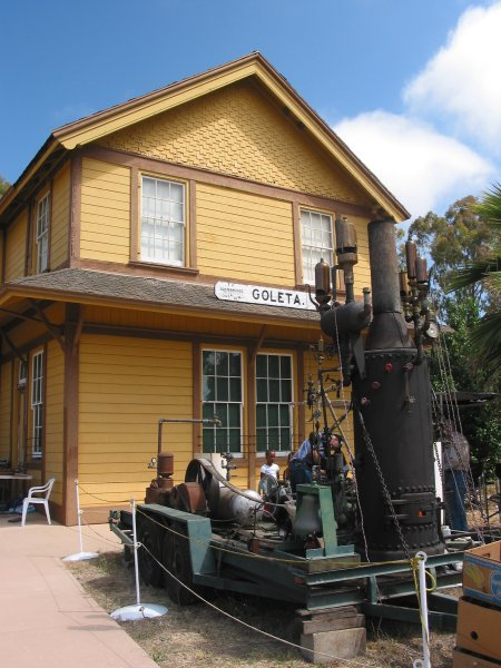 South Coast Railroad Museum, Goleta, Santa Barbara California