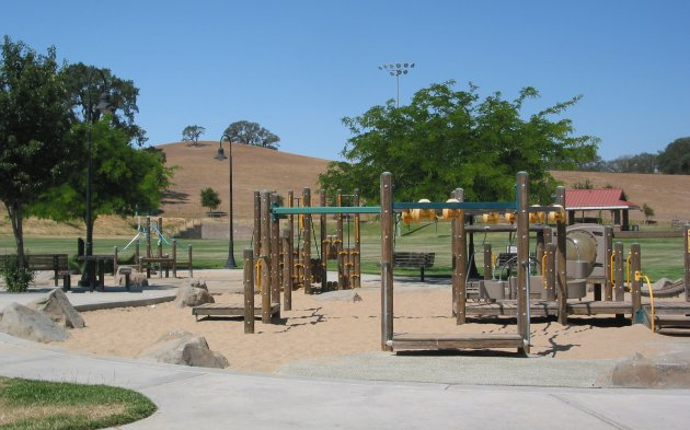 Barney Schwartz Lower Playground, Paso Robles, San Luis Obispo California