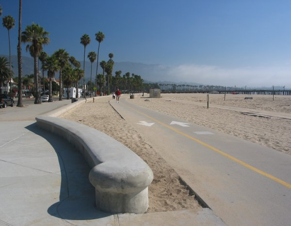 West Beach Boardwalk, Santa Barbara California