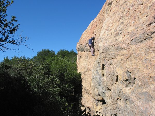 Playgrounds Rock Climbing Area, Santa Barbara California