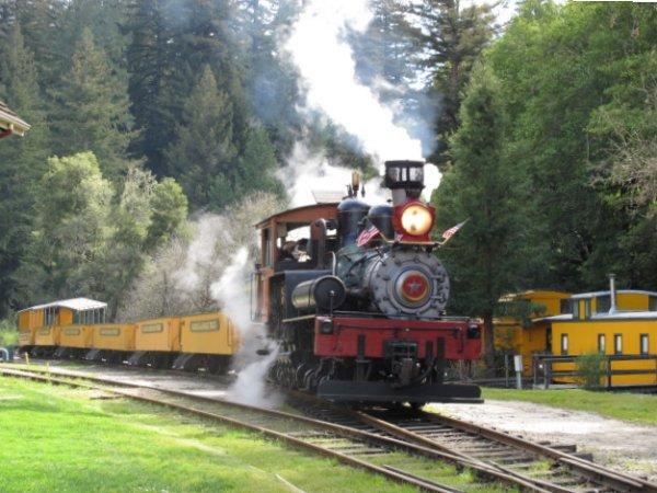 Roaring Camp Railroads, Felton, San Francisco California