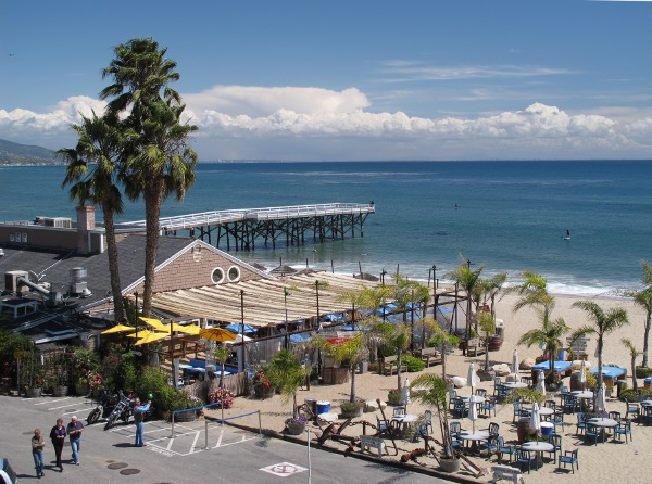 Paradise Cove Beach Cafe, Malibu, Los Angeles California