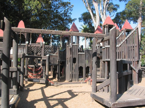 Kidsworld Castle Playground, Santa Barbara California