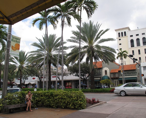 Miracle Mile, Coral Gables, Miami FL