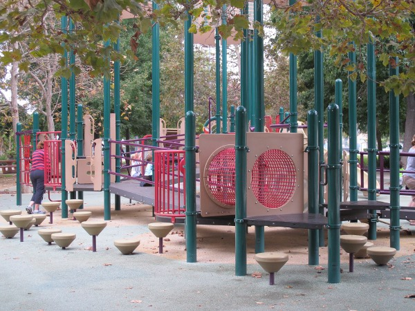 Aidan's Place Playground, Westwood Park, Los Angeles California