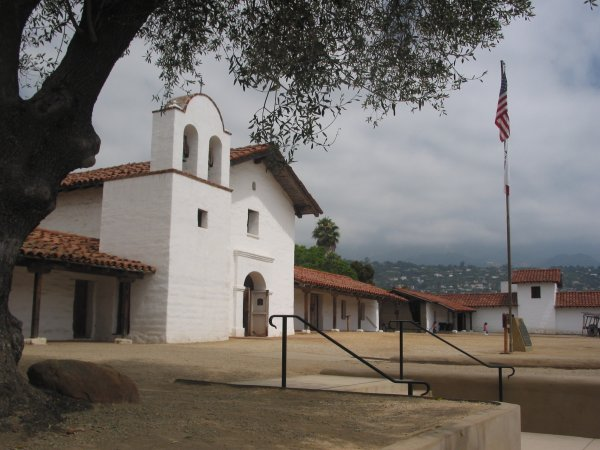 El Presidio and Raffour House, Santa Barbara California