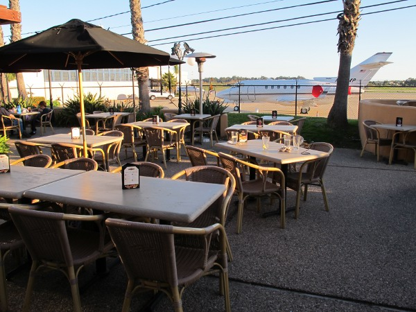 High Sierra Grill Airplane Patio, Santa Barbara California